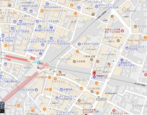 下北沢ケージマップ