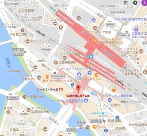 広島駅南口地下イベント広場